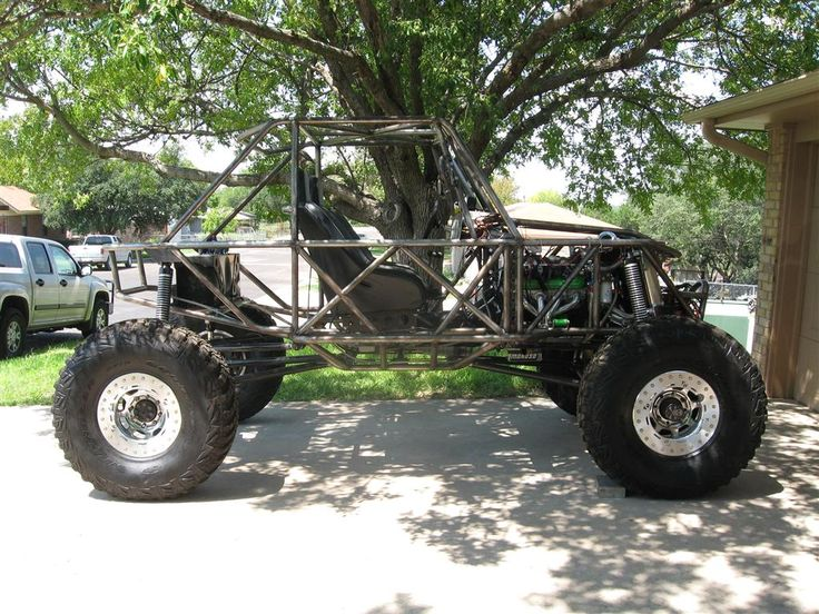 Buggy Rock Crawler Chassis Plan