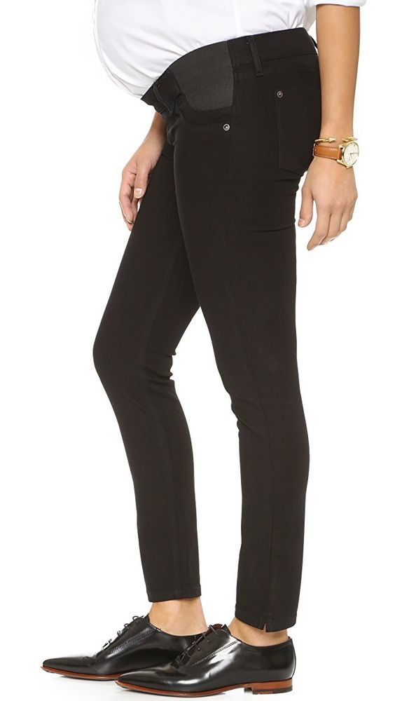 47ee4e249c84a $168 DL1961 angel Maternity Ankle Jeans Black Size 27 #fashion #clothing  #shoes #accessories #womensclothing #jeans (ebay link)