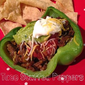 Working on My Forever: Weight Watchers Taco Stuffed Peppers