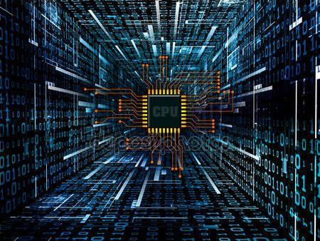 Letöltés - Digitális áramkör — Stock Kép #6474835