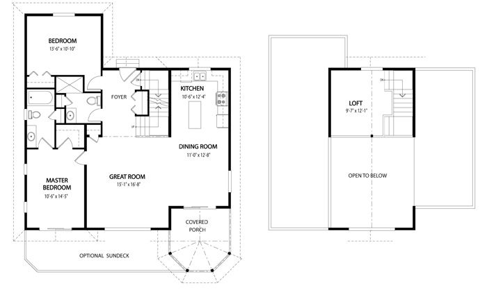 The Birchview Home Package From Linwood Homes Is A Post