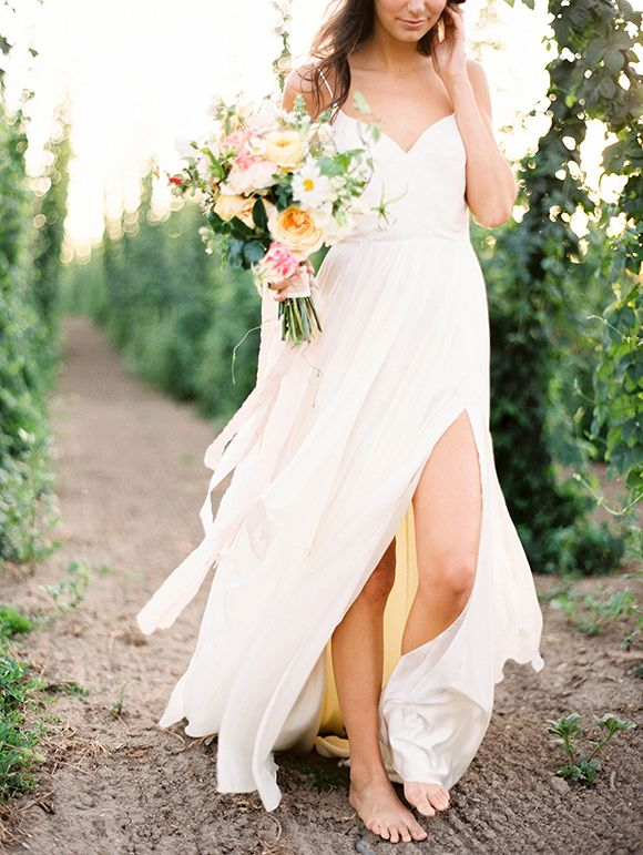 Elegant Romantic bridal inspiration