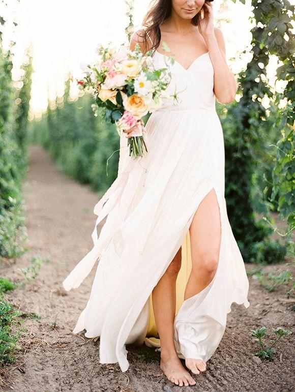 Romantic bridal inspiration