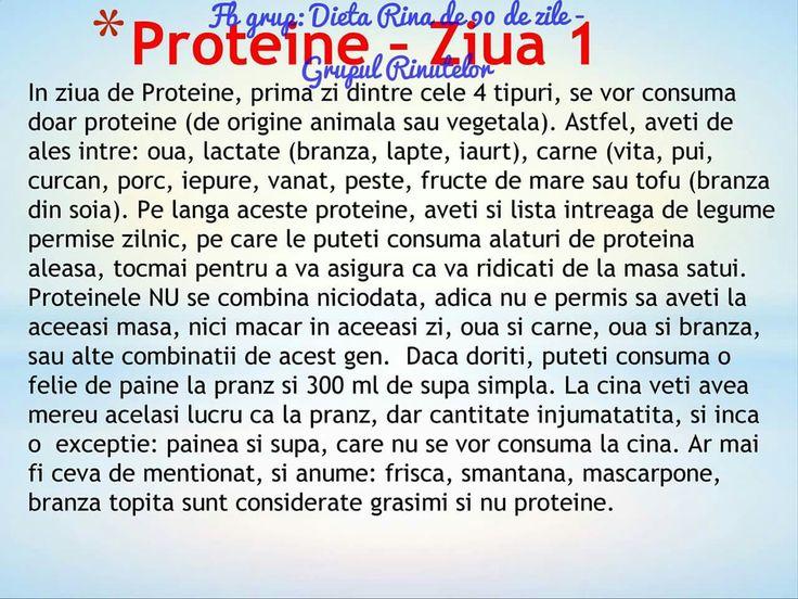 Proteine - ziua 1