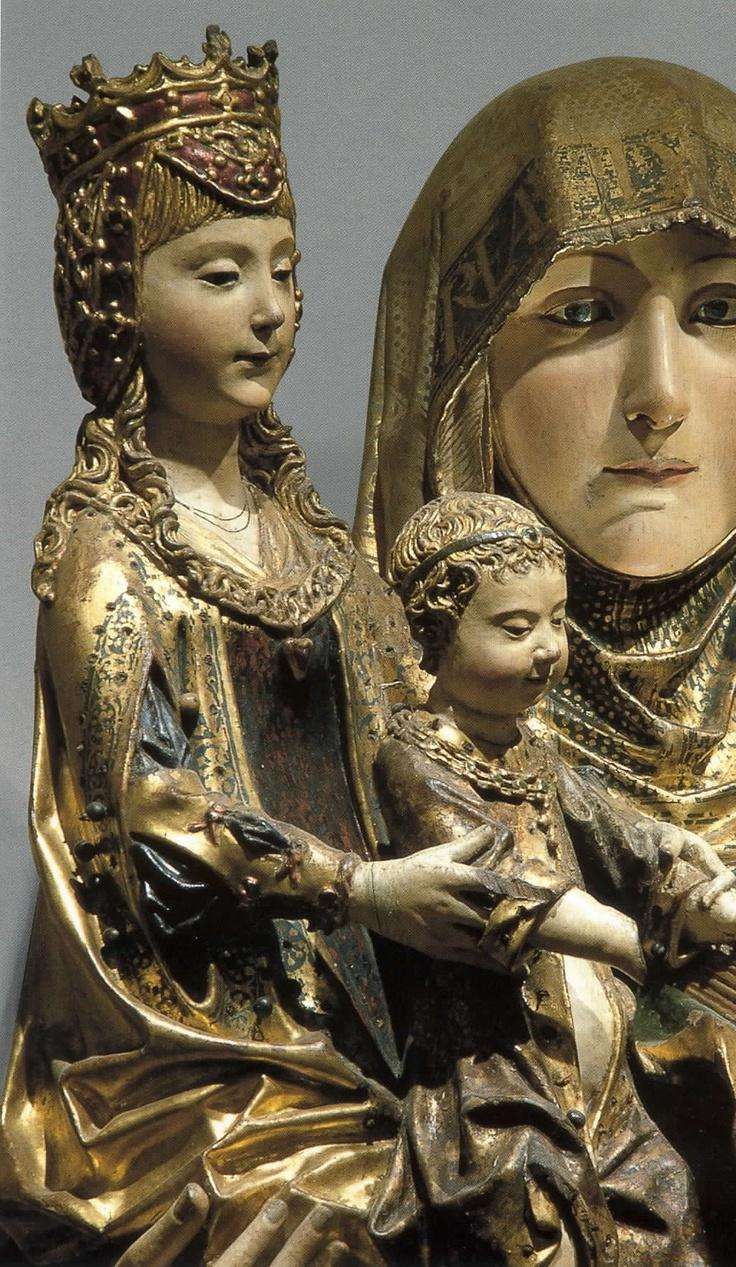 15th C. Gil Siloe, Retablo de Santa Ana o de las Santas in the Capilla del Condestable. Cathedral of Burgos