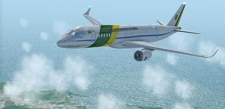 Flight Simulator X 2016 Air HD v1.3.1 - Frenzy ANDROID - games and aplications