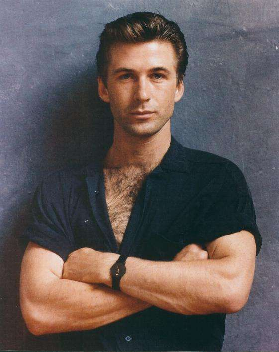 Lord this looks like an ex- bf of mine only he was actually even better looking. Impossible you say? Nope it's not. Ironically first movie we saw starred Alec Baldwin. Weird