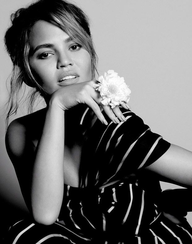 SLF Mag - Fashion Editorial: Chrissy Teigen for Vogue...