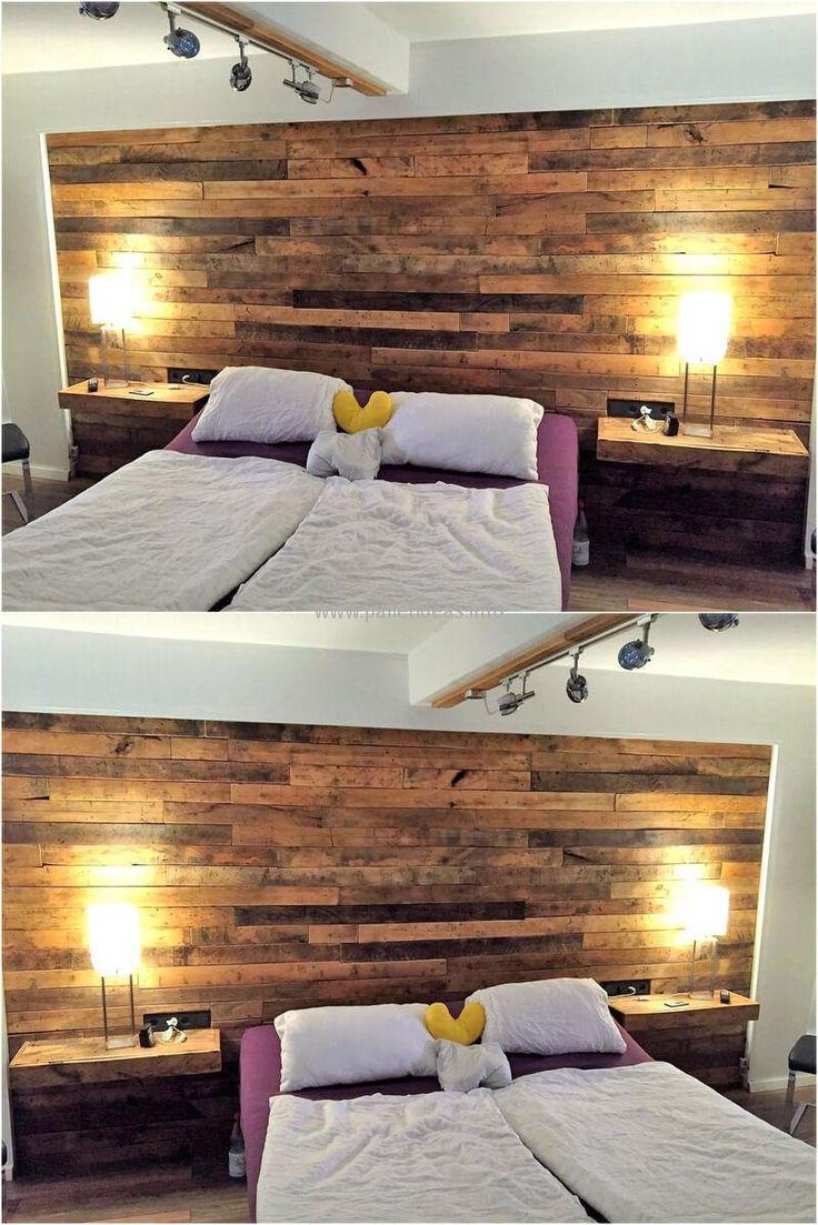 Pallet bedroom furniture plans - Pallet Bedroom Furniture Plans 58