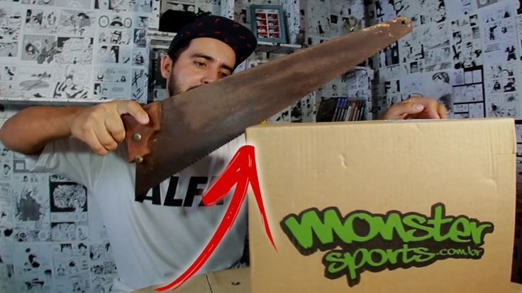 NO SERROTE - UNBOXING MONSTER SPORTS #1