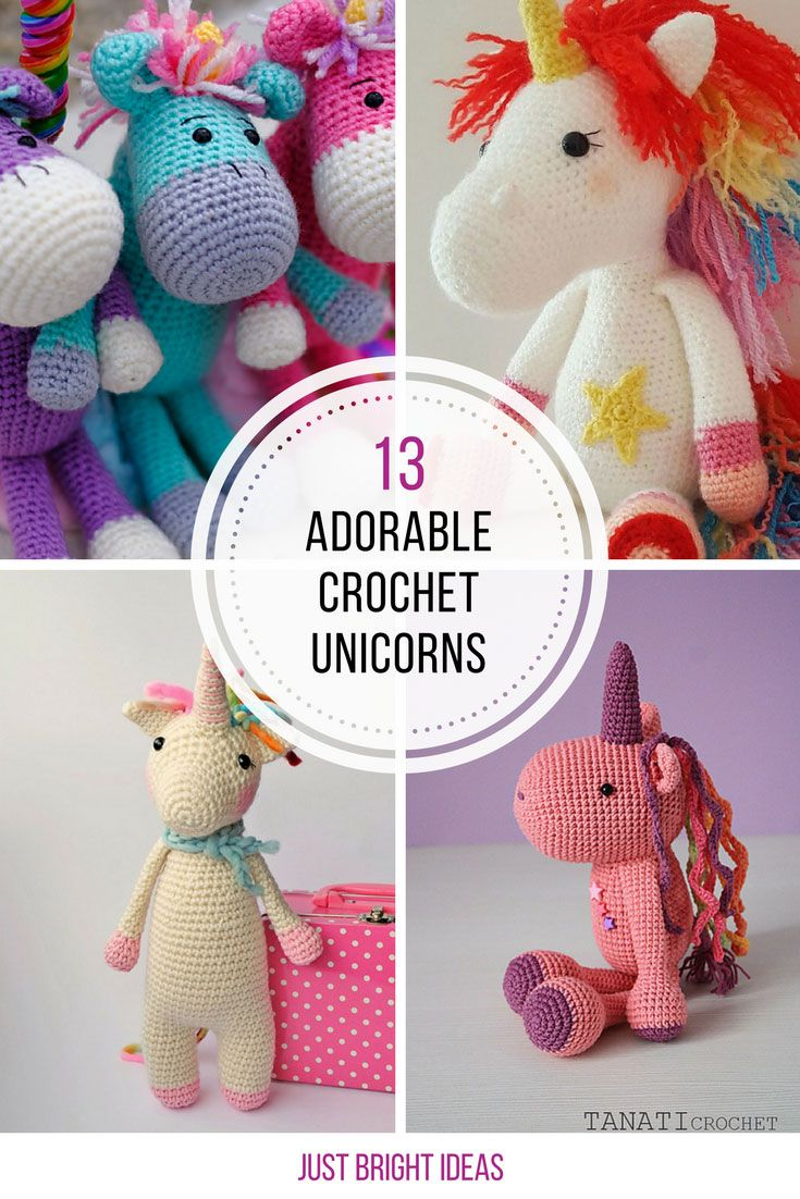 Loving these free crochet unicorn patterns! Thanks for sharing! | Beautiful Cases For Girls