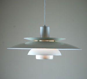 Original DANISH Ceiling Lamp LYSKAER 4856 Poulsen Fog & Morup Lyfa 70s 80s Era
