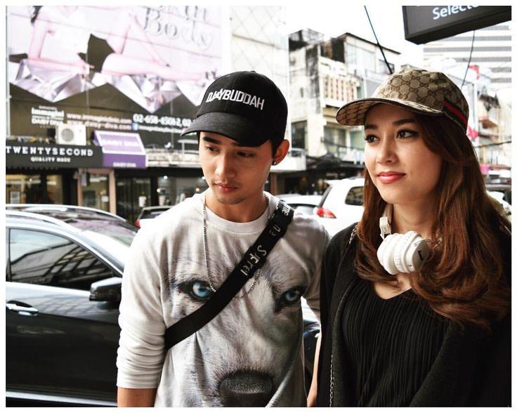 volvo & pailin #nike #gucci #supreme #siam #bangkok #bkk #thailand #fashionpic #fashion #snap #picture #タイ #バンコク #ファッション #スナップ #ファッションスナップ #古着 #タイファッション #🇹🇭 #emotionbkk
