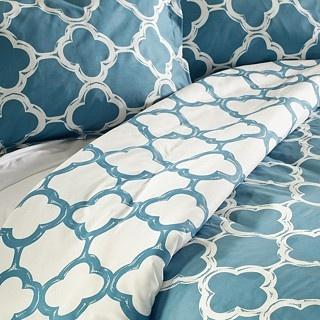 King size duvet cover from overstock.com: Bedrooms Duvet, Geometric Patterns, Blue Patterns Duvet Covers, Guest Bedrooms, Bedrooms Beds, Duvet Covers Sets, Master Bedrooms, 3 Pieces Duvet, Bedrooms Ideas