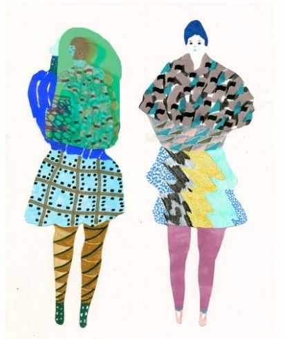 Eden Veaudry fashion illustrations