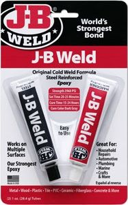 The best adhesive on the market for when you need to glue something to metal or fix something.