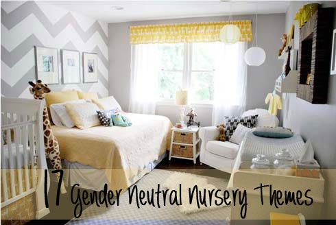 17 Awesome Gender Neutral Nurseries. and reasons why not to find out the sex :)