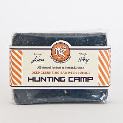 HUNTING CAMP Deep Exfoliating Soap | Portland General Store