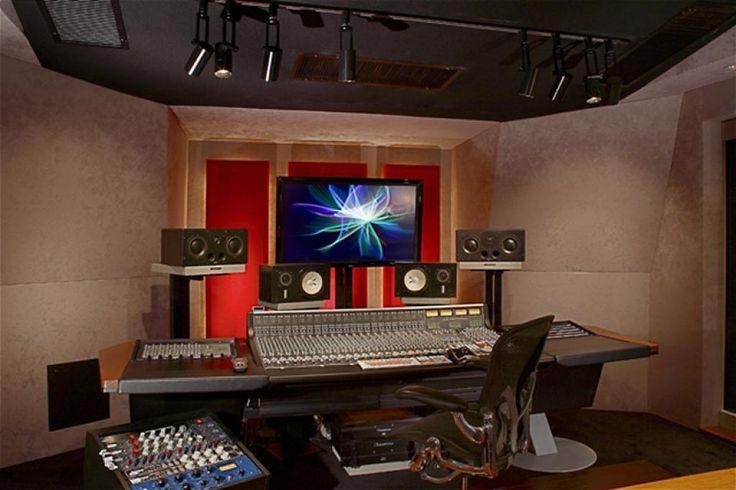 home music studio interior design and equipment