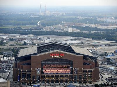Indianapolis Colts--Lucas Oil Stadium: Indianapolis, INDIANA - Lucas Oil Stadium