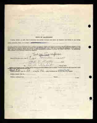 pg 3 Sam Sampson in the Texas, Naturalization Records, 1881-1992 Name:
