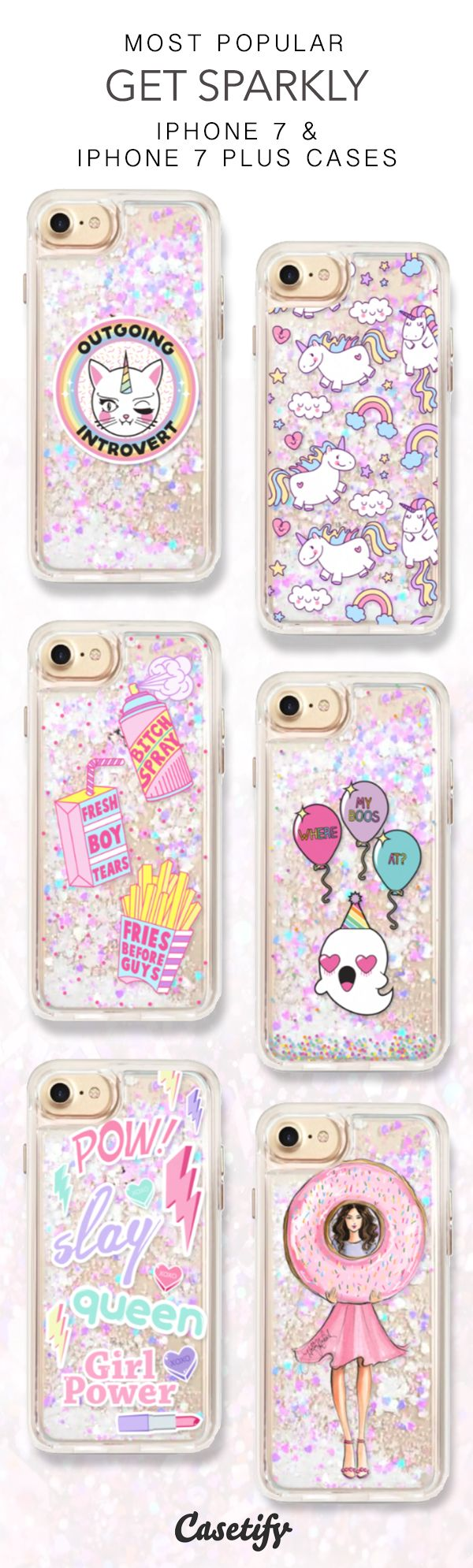 Most Popular Get Sparkly iPhone 7 Cases here > https://www.casetify.com/collections/iphone-7-glitter-cases#/