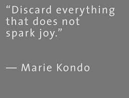 Marie Kondo, exactly what I want to do for 2015, declutter and get rid of stuff