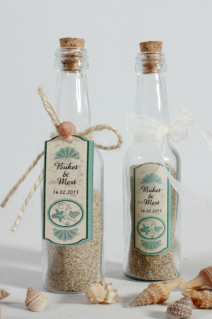 Sand in a bottle, right choise for the summer