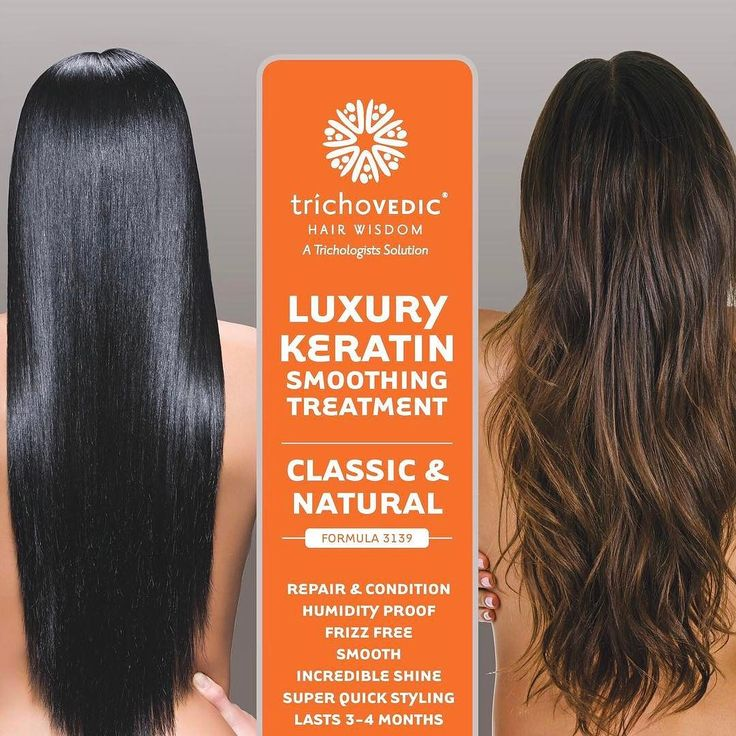 Introducing the Luxury Keratin Smoothing Treatment Natural Application! Our Natural Application is designed for clients who want the improved hair condition and smoothness the humidity protection and time saved when styling but want to retain some wave and volume for a more natural look. #trichovedic #hairwisdom #luxuryhaircare #trichovedickeratintreatment