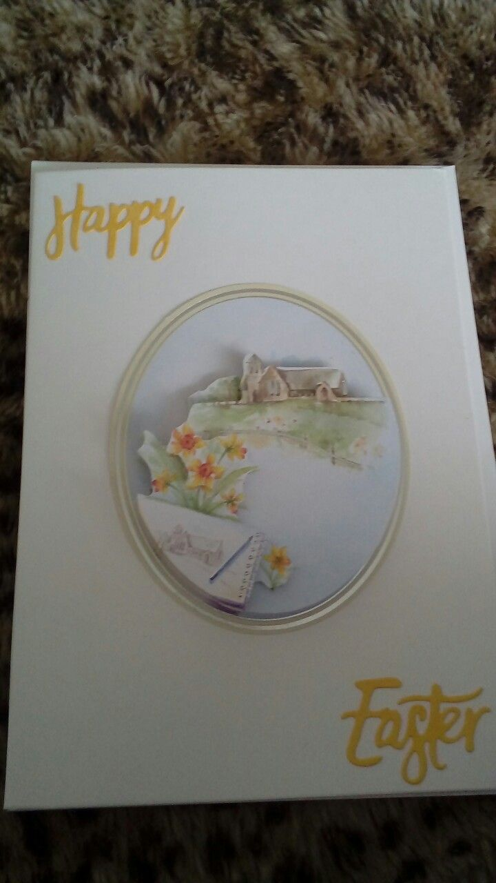 Newest easter card