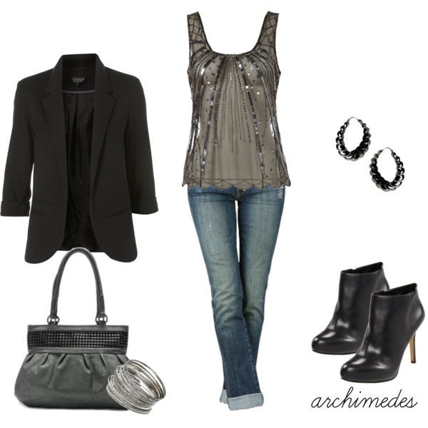 Saturday Night, created by archimedes16 on Polyvore