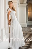 Available NOW!! Designer wedding dresses which designed by Australian designer team. Romantic garden wedding dress in chiffon.