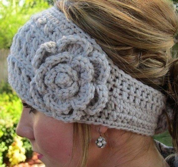 Crochet headwrap. Love. Must make.