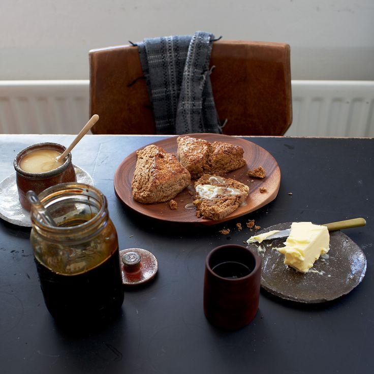 Ginger-Molasses Scones | Food & Wine