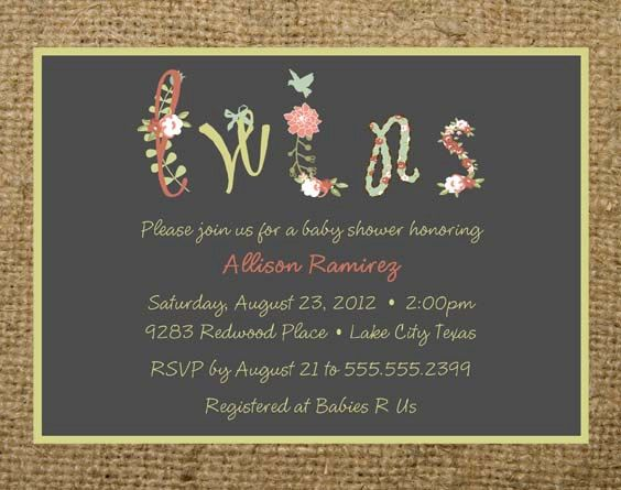 63 best images about TWINS Gender Reveal Party – Baby Gender Reveal Party Invitation Wording