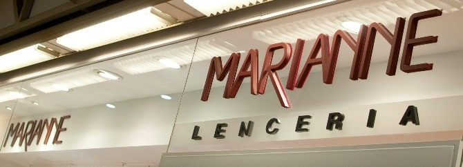 LENCERIA MARIANNE  Local: 135  Teléfono: 2622 0835  #vestimenta #mujer #lenceria: Marianne Local
