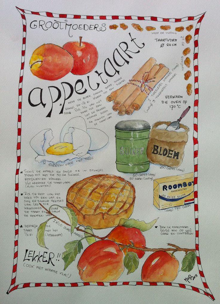 Made by MoP  Recipe of 'Grandma`s Apple Pie'