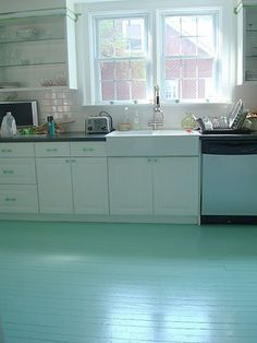 Painting  your wood floor