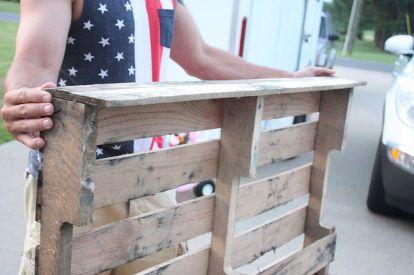 easy diy pallet coat rack, organizing, pallet, repurposing upcycling