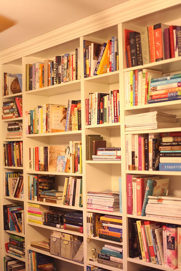 17 best images about bookshelves on pinterest ikea billy for Ikea blue billy bookcase