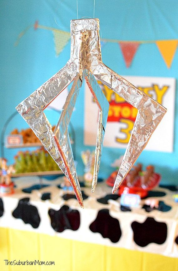 Toy Story Party Decorations The Claw Pizza by TheSuburbanMom