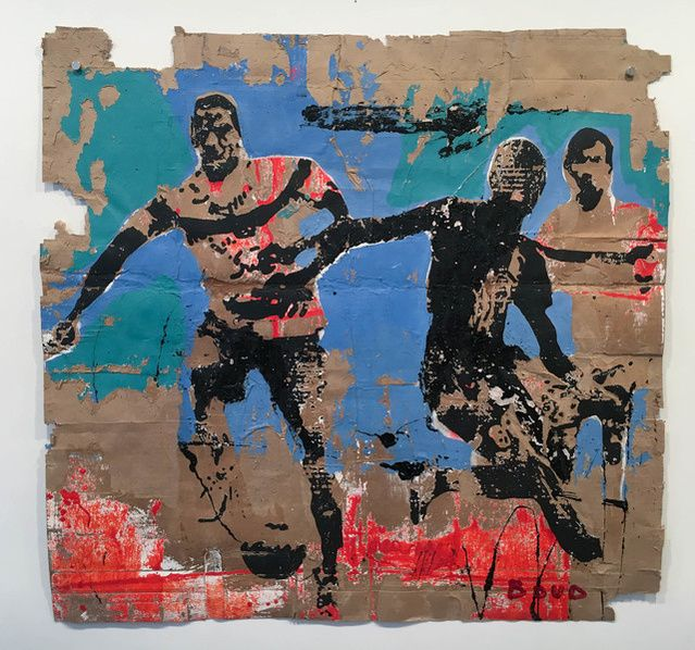 Armand Boua, Untitled, 2016