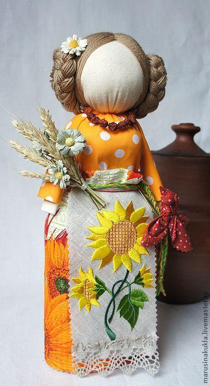 """Народные куклы ручной работы. Ярмарка Мастеров - ручная работа Авторская кукла """"Славяночка"""".. Handmade."""