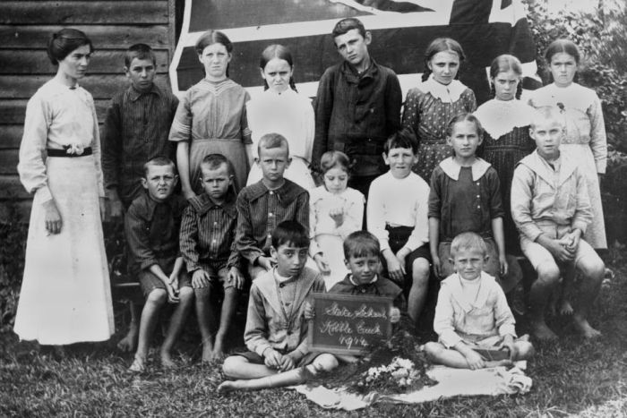 Porait of Kobble Creek State School, Qld, 1914