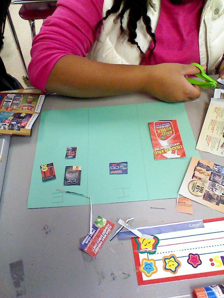 Author's Purpose: Its as easy as PIE. Used a scholastic book order for the students to cut out books and sort them according to Author's Purpose (persuade, inform, entertain)