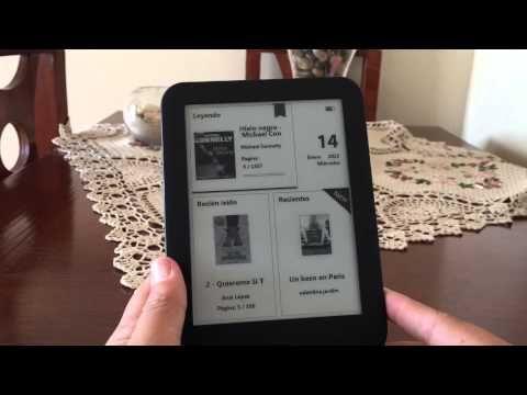 Video que trata sobre los lectores de libros digitales