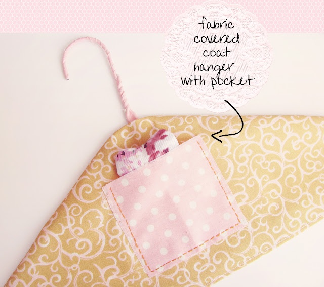 Cover hanger with pocket