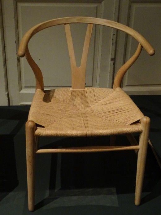 another timber and cane chair