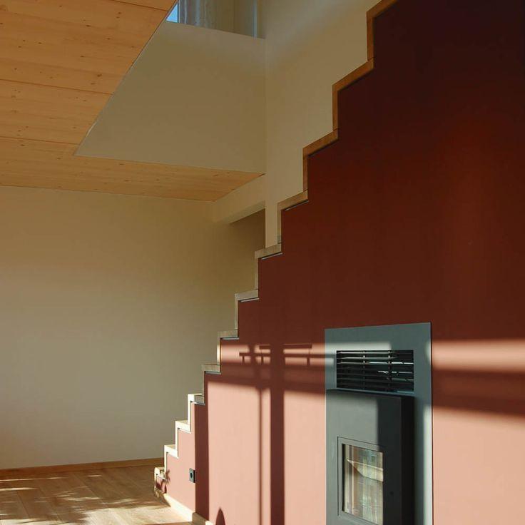 Einfamilienhaus - Qualitätsgeprüftes Passivhaus | w - (Pelletofen in Treppe integriert)