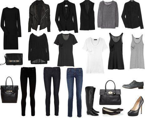 Minimalist Wardrobe Essentials.